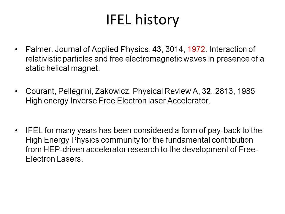IFEL history