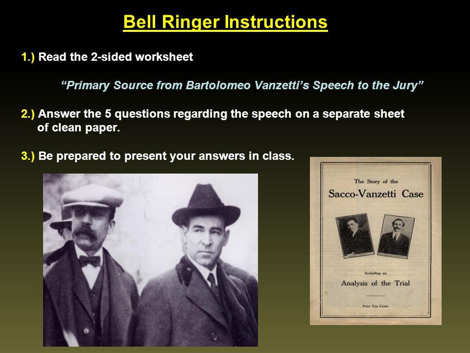 Bell Ringer Instructions
