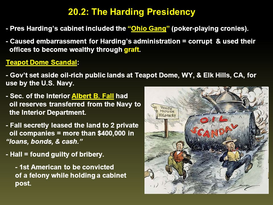 20.2: The Harding Presidency