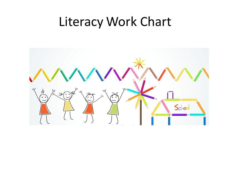 Literacy Work Chart