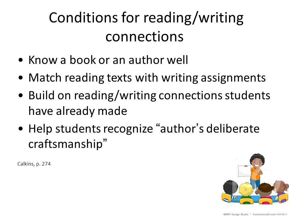 Conditions for reading/writing connections