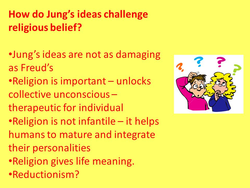 How do Jung's ideas challenge religious belief