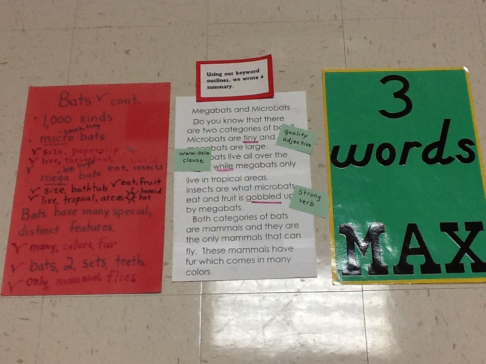 I use key words for everything including my guided reading groups