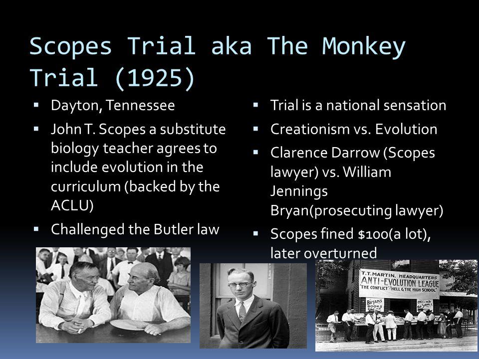 Scopes Trial aka The Monkey Trial (1925)