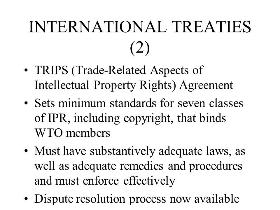 INTERNATIONAL TREATIES (2)