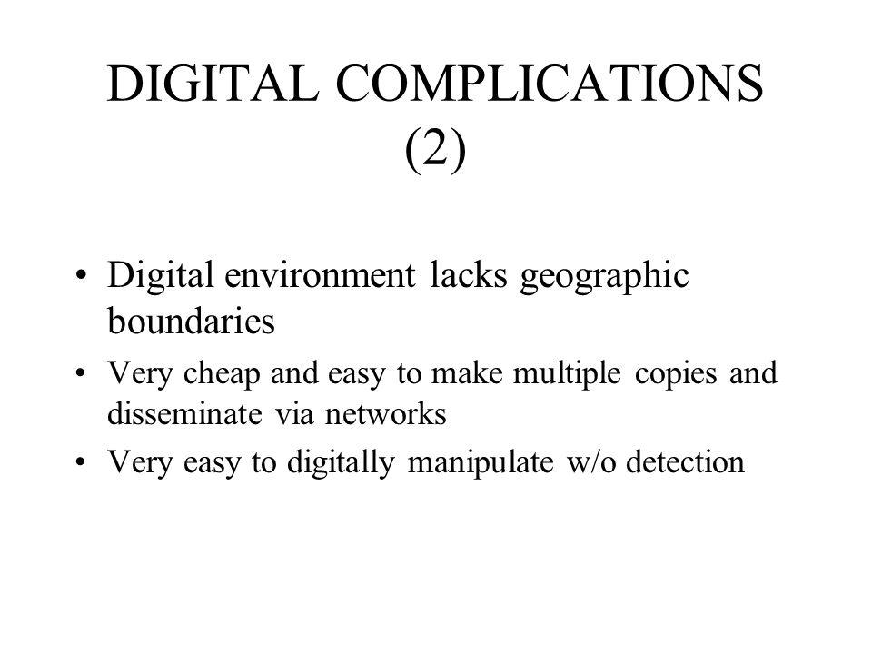 DIGITAL COMPLICATIONS (2)