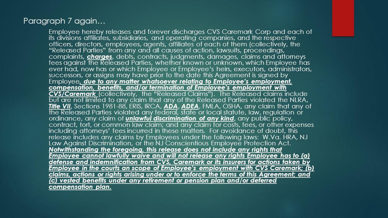 Paragraph 7 again…