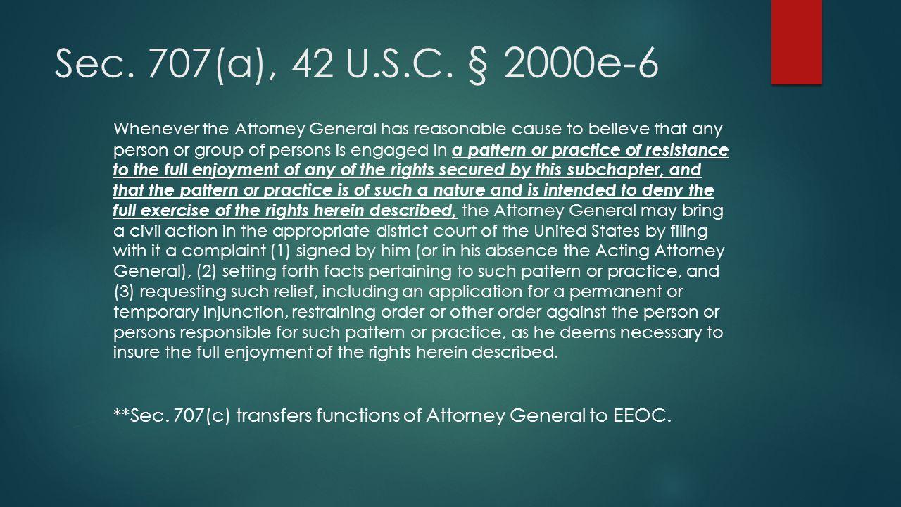 Sec. 707(a), 42 U.S.C. § 2000e-6