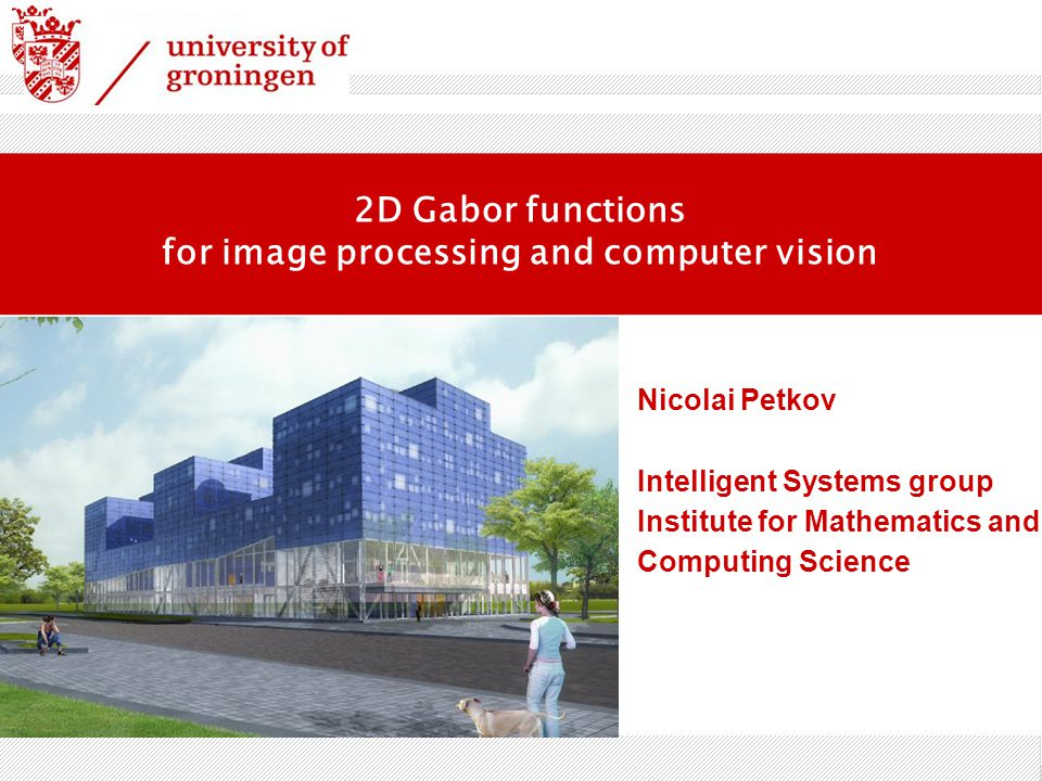 for image processing and computer vision