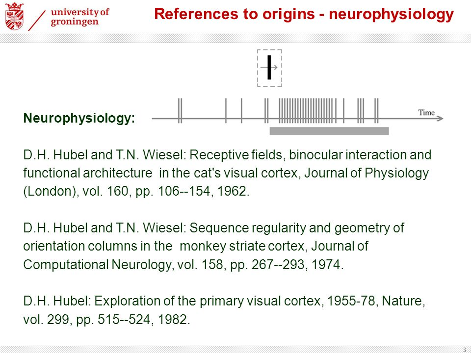 References to origins - neurophysiology