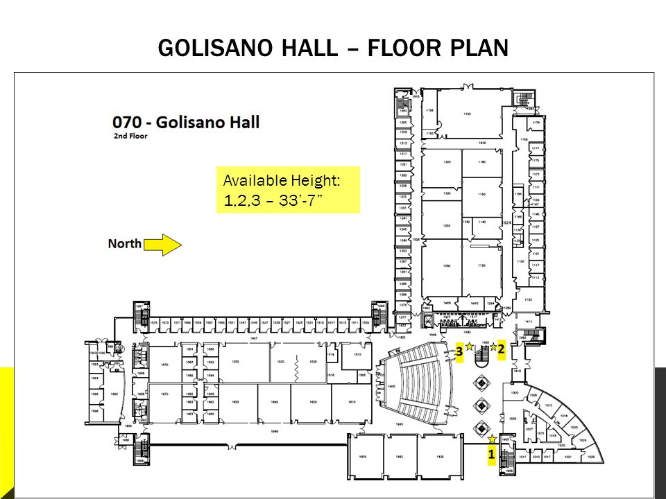 Golisano Hall – Floor plan