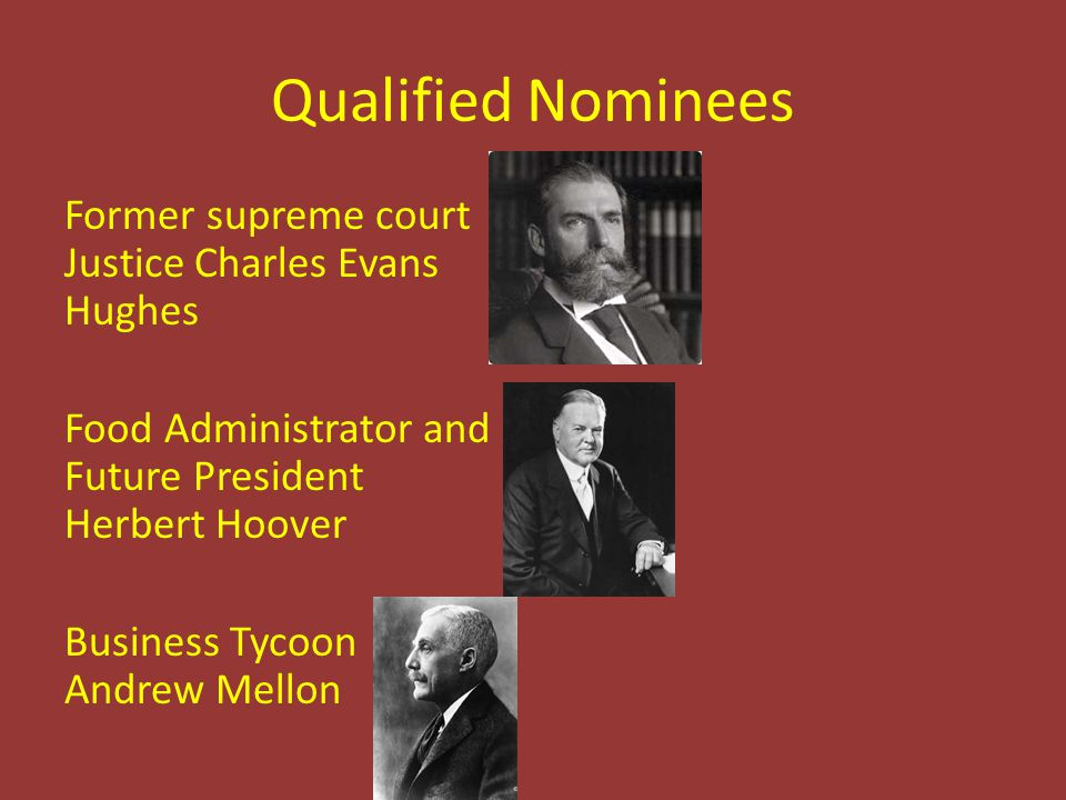 Qualified Nominees