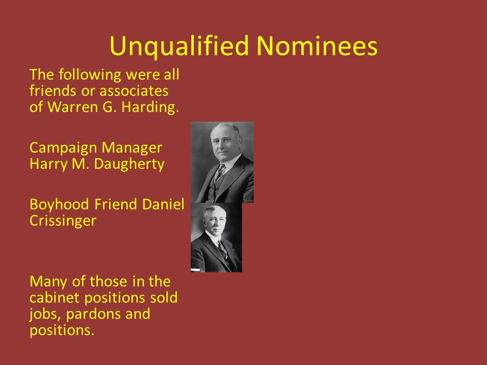 Unqualified Nominees
