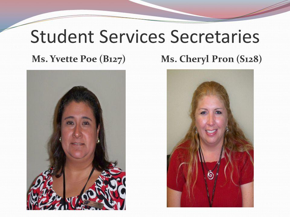 Student Services Secretaries