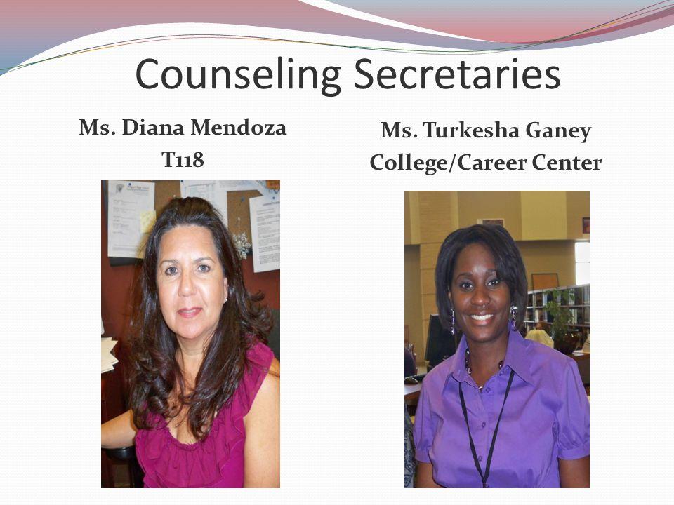 Counseling Secretaries