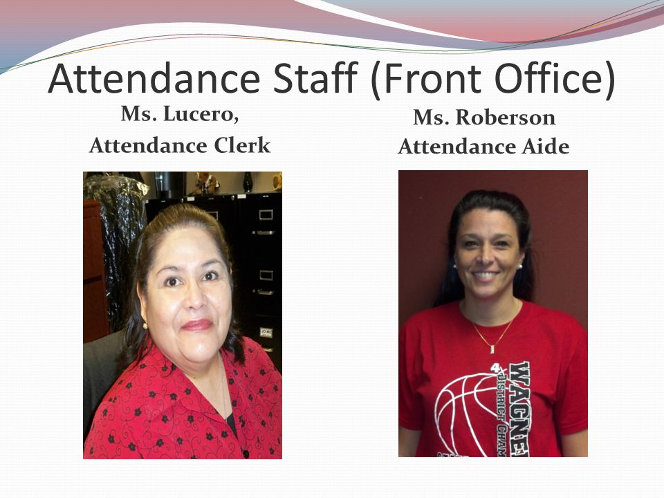 Attendance Staff (Front Office)