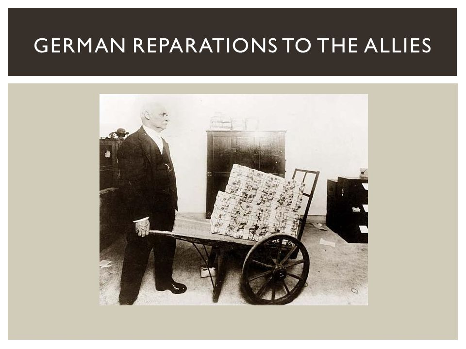 German Reparations to the Allies