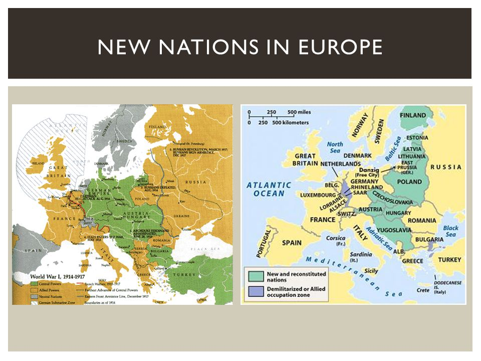 New Nations in Europe