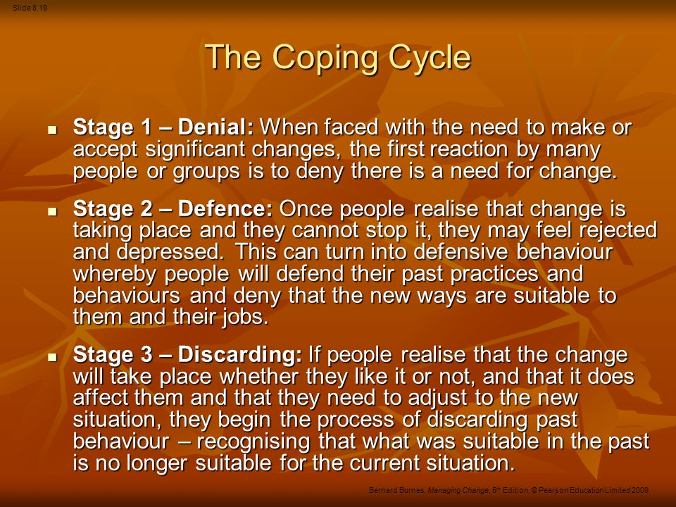 The Coping Cycle