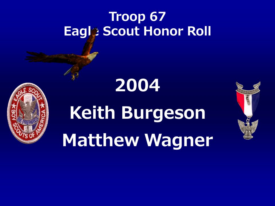 2004 Keith Burgeson Matthew Wagner
