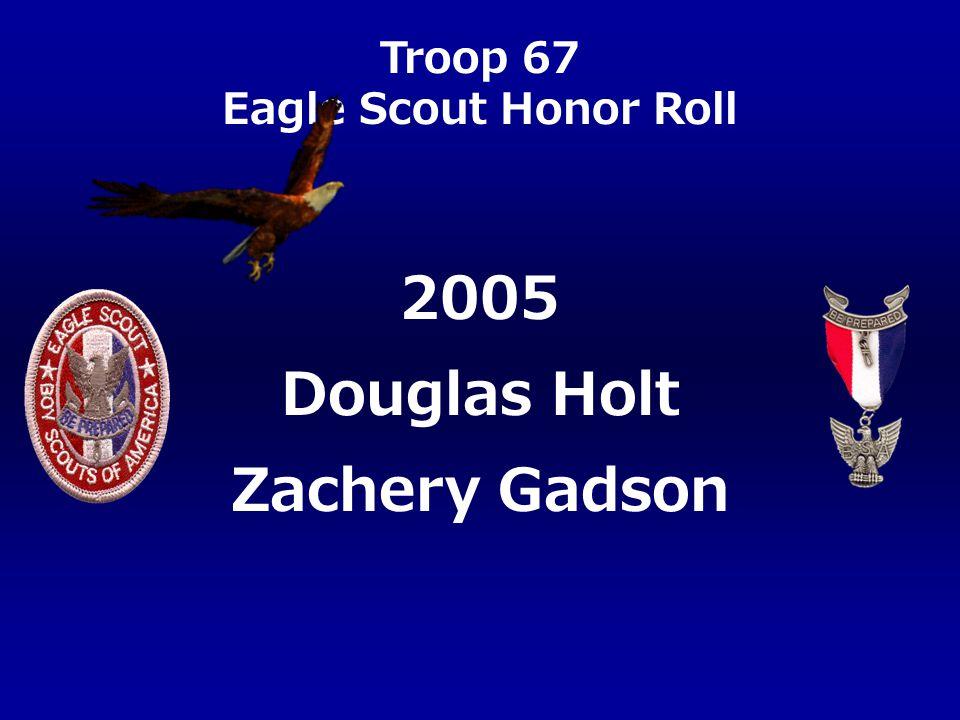 2005 Douglas Holt Zachery Gadson