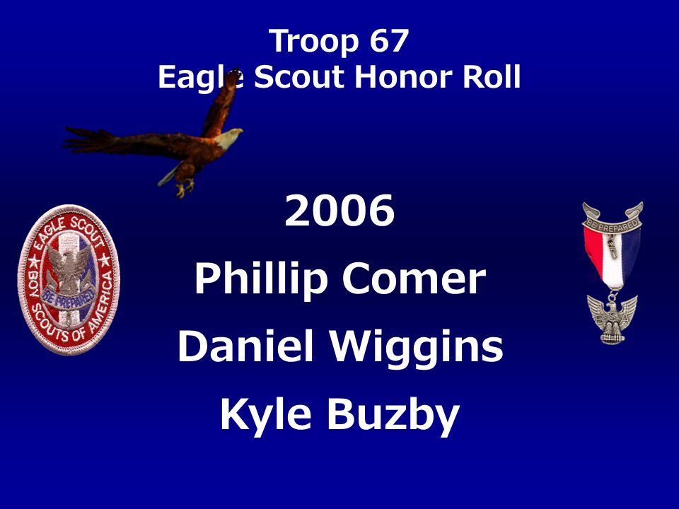 2006 Phillip Comer Daniel Wiggins Kyle Buzby