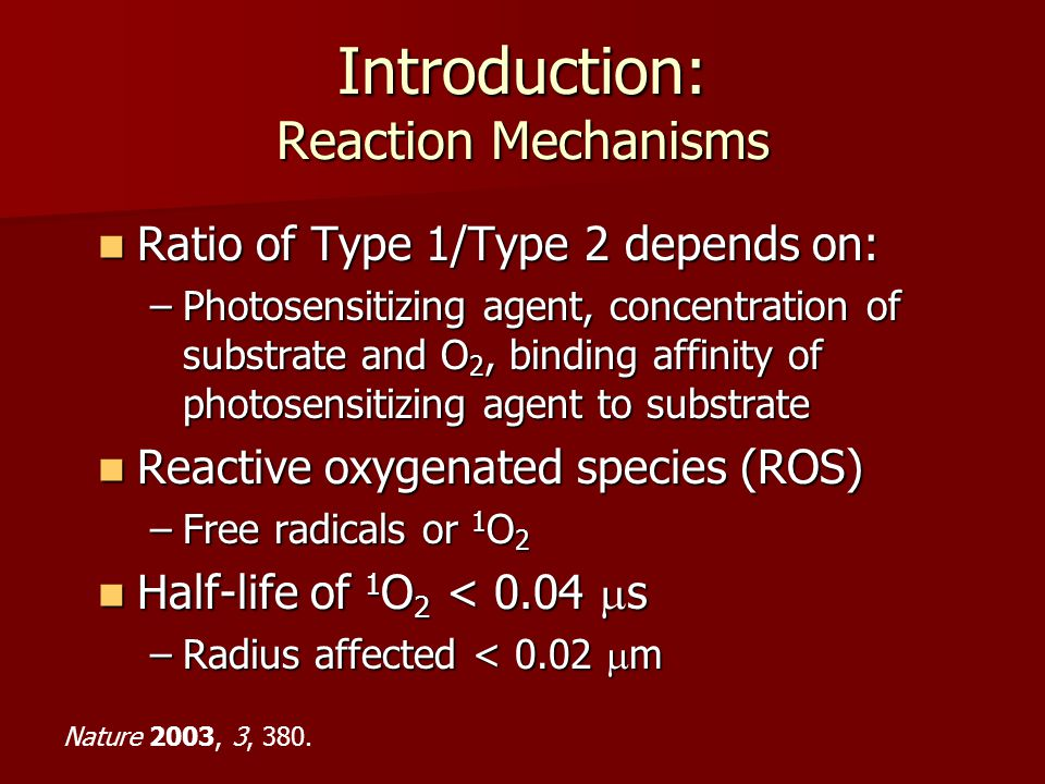 Introduction: Reaction Mechanisms