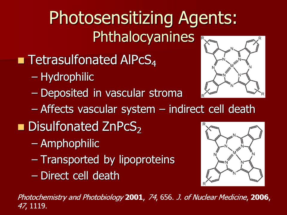 Photosensitizing Agents: Phthalocyanines