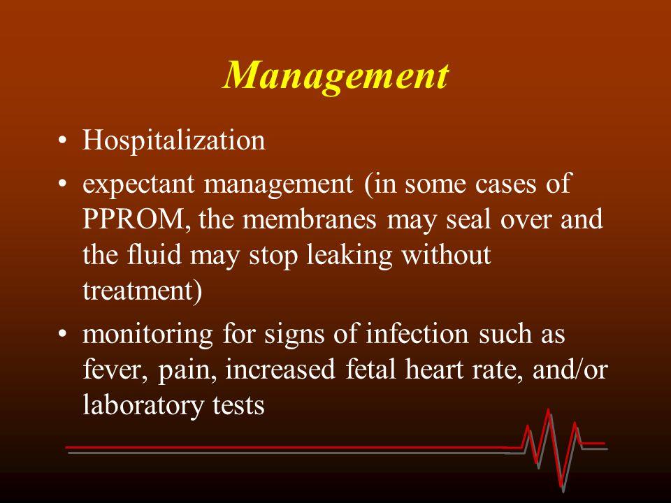 Management Hospitalization