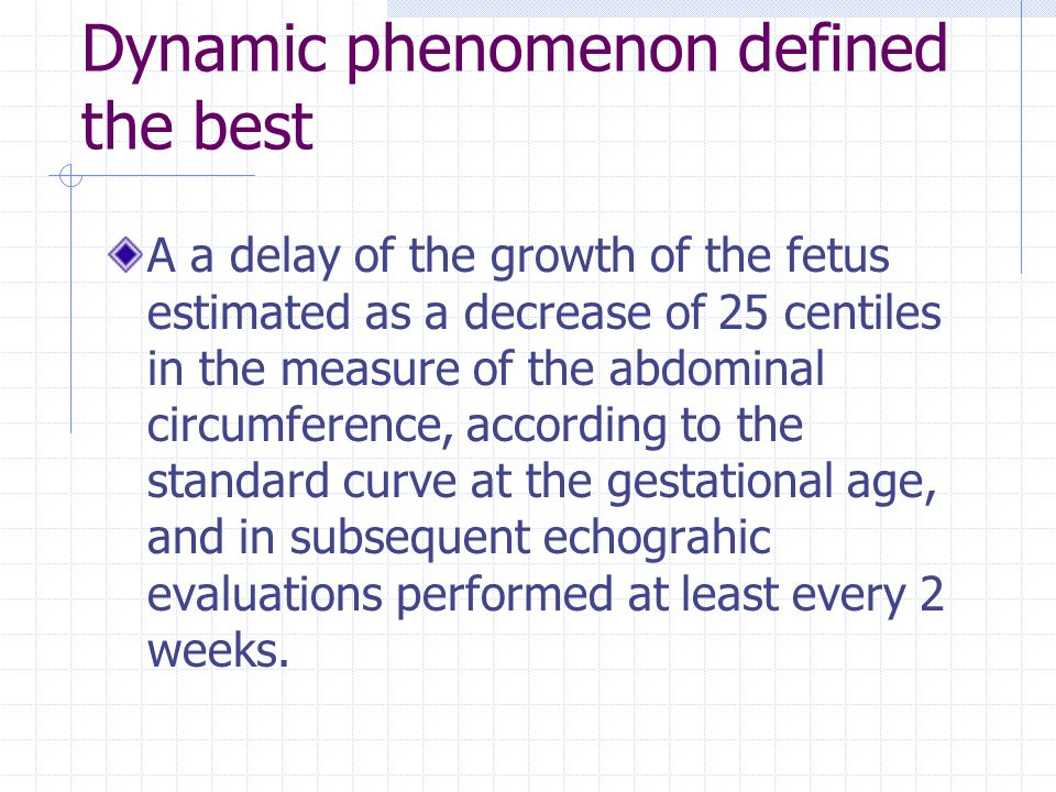 Dynamic phenomenon defined the best