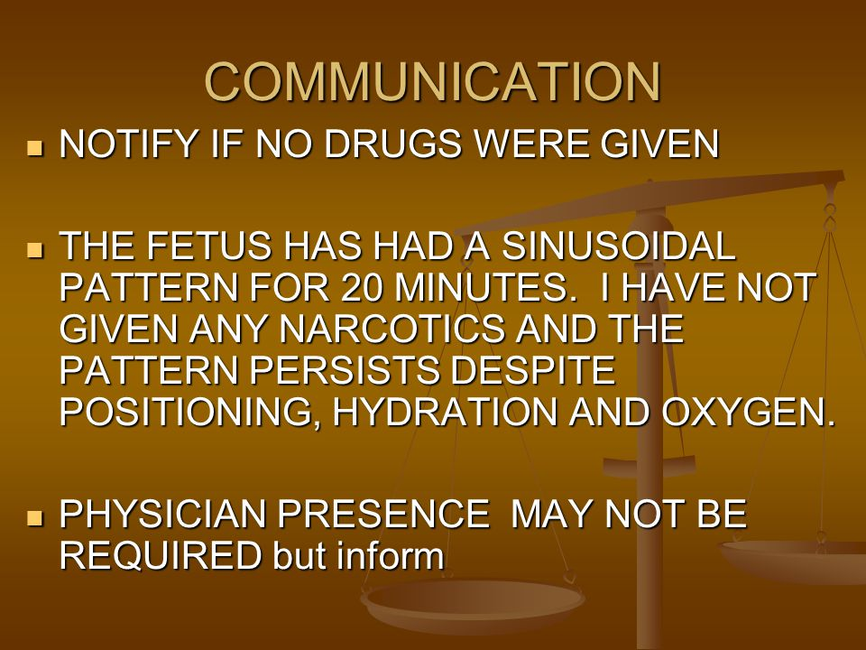 COMMUNICATION NOTIFY IF NO DRUGS WERE GIVEN