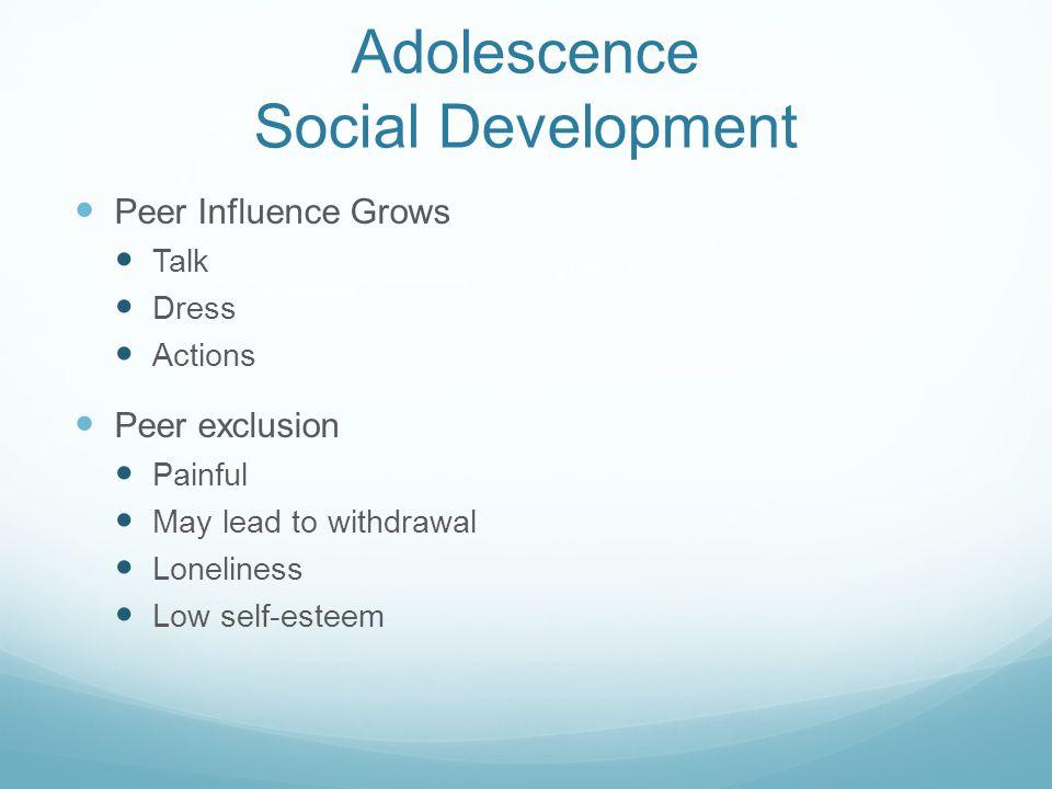 Adolescence Social Development