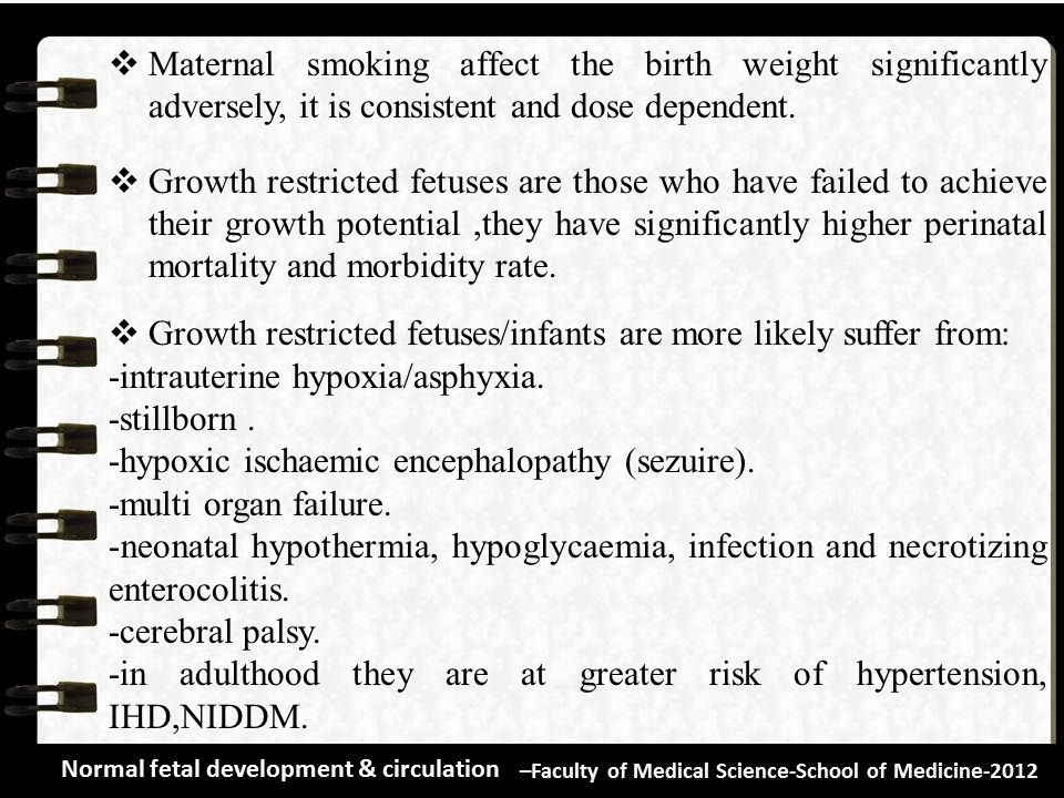 Growth restricted fetuses/infants are more likely suffer from:
