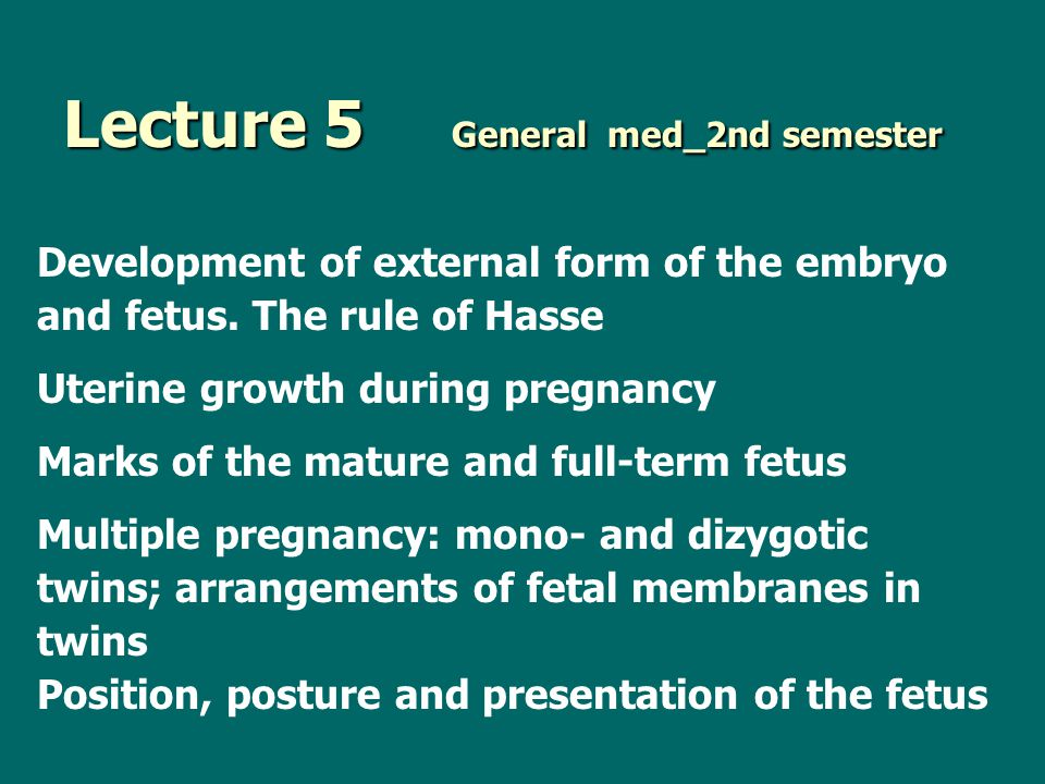 Lecture 5 General med_2nd semester