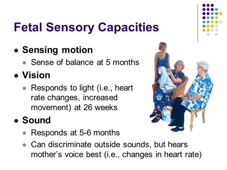 Fetal Sensory Capacities