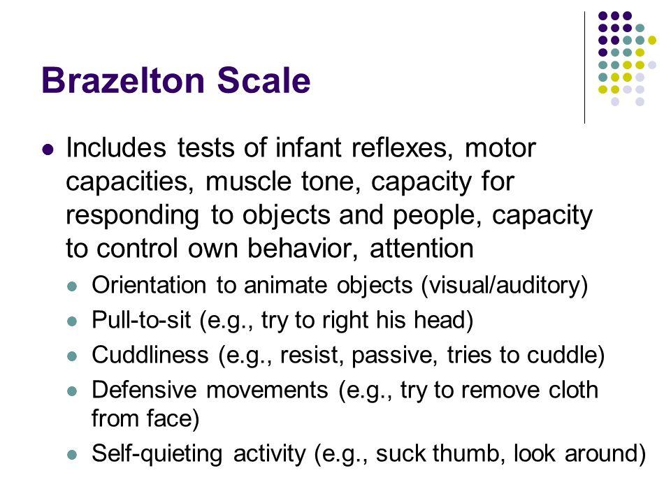 Brazelton Scale
