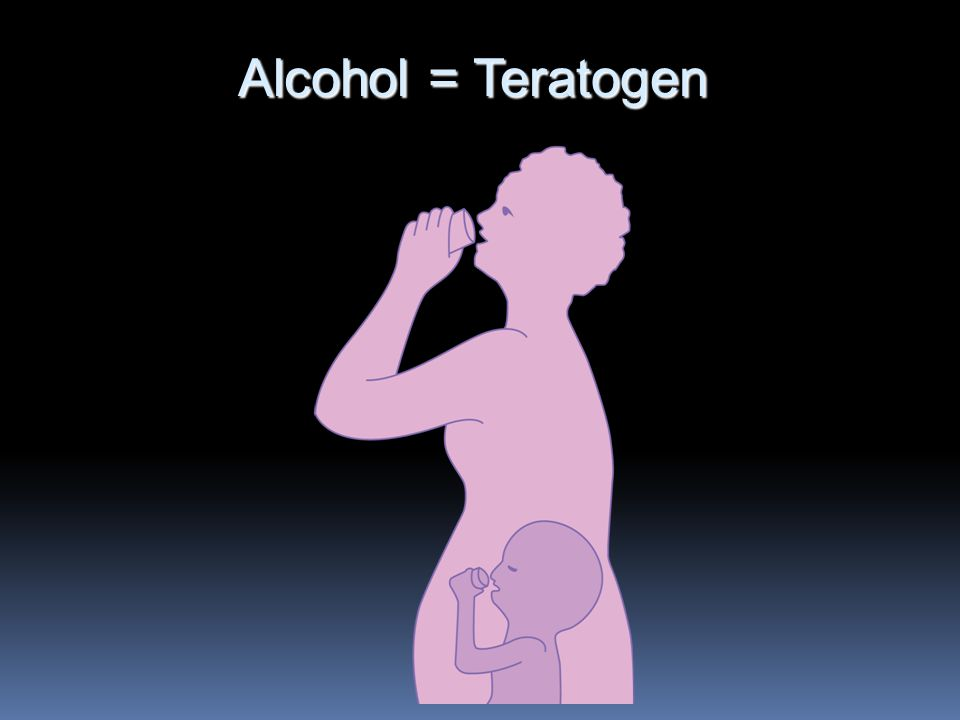 Alcohol = Teratogen