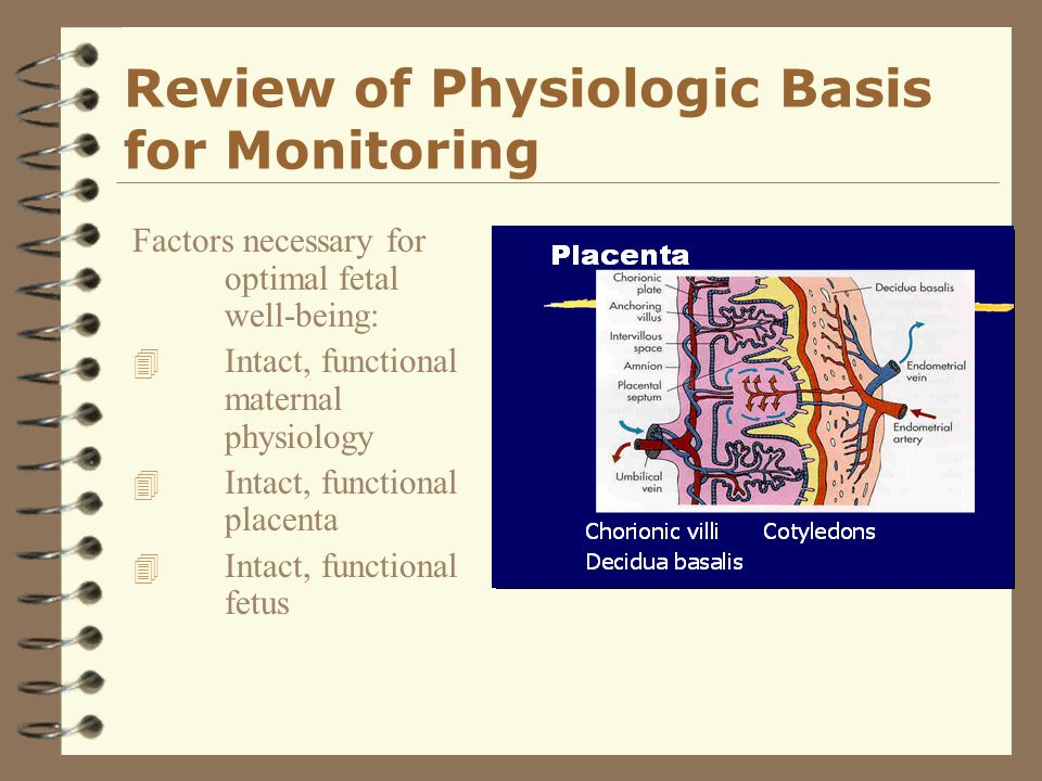 Review of Physiologic Basis for Monitoring