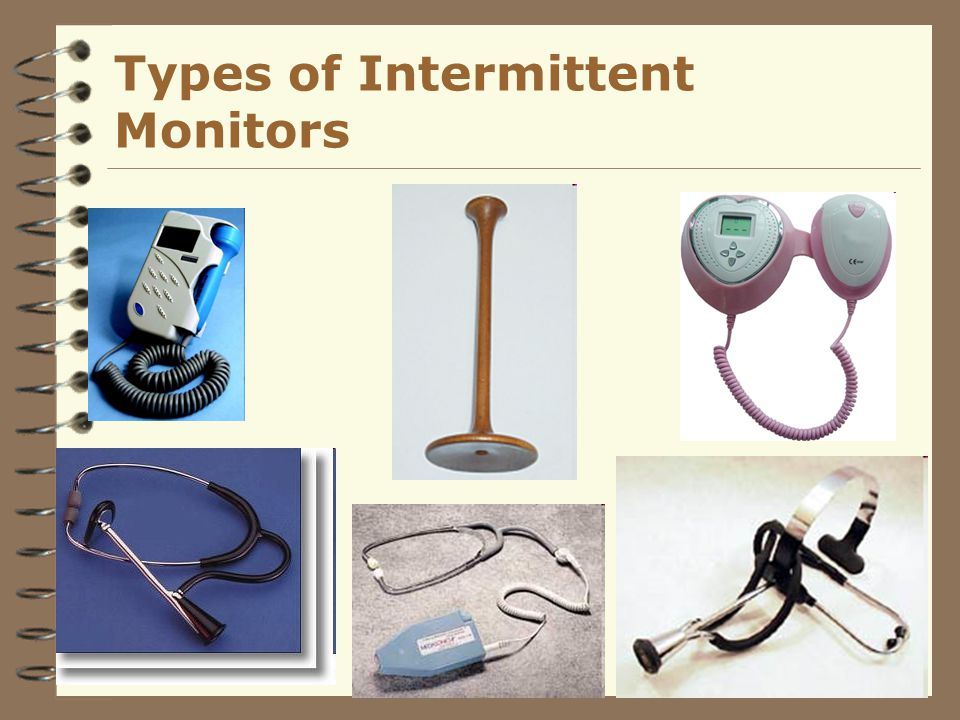 Types of Intermittent Monitors