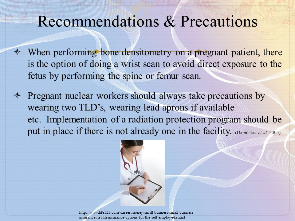 Recommendations & Precautions
