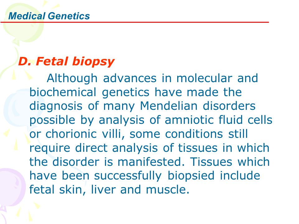 D. Fetal biopsy