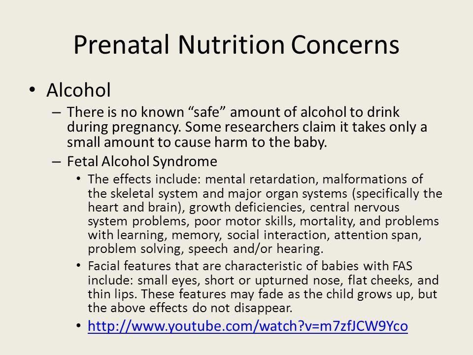 Prenatal Nutrition Concerns