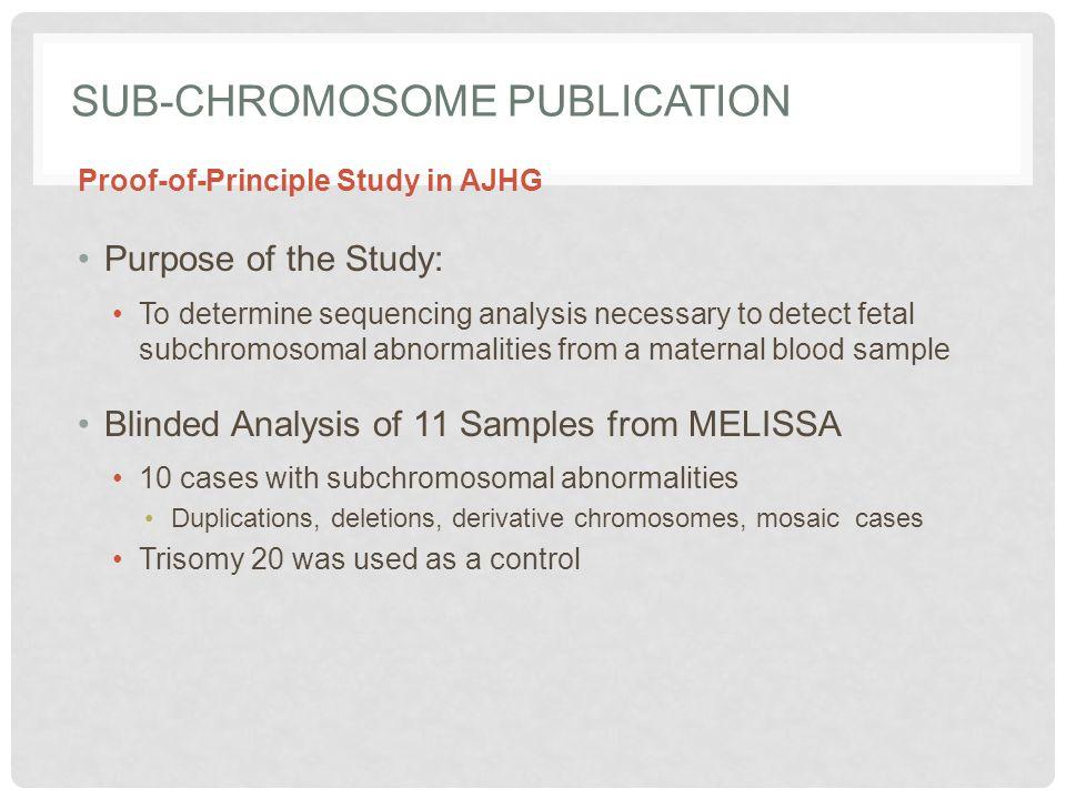 Sub-Chromosome Publication