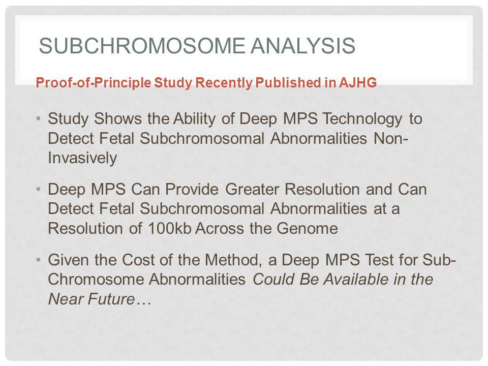 Subchromosome Analysis