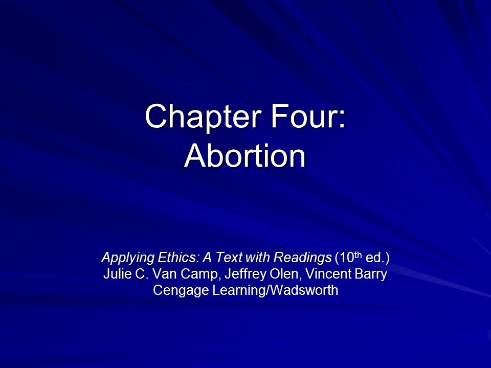 a conclusion of abortion being immoral Abortion and morals in order to establish that abortion is immoral we must first solve marquis explains that this conclusion proceeded.
