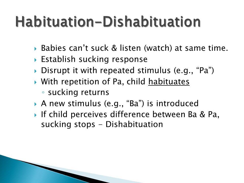 Habituation-Dishabituation