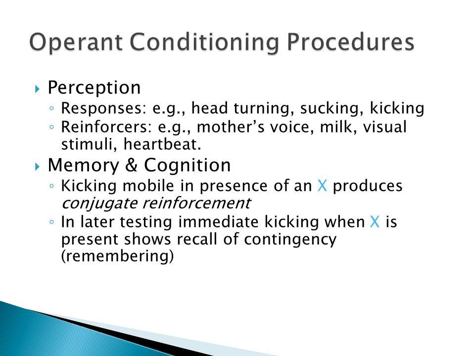 Operant Conditioning Procedures