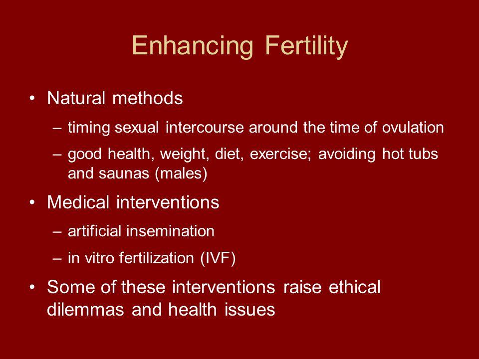 Enhancing Fertility Natural methods Medical interventions