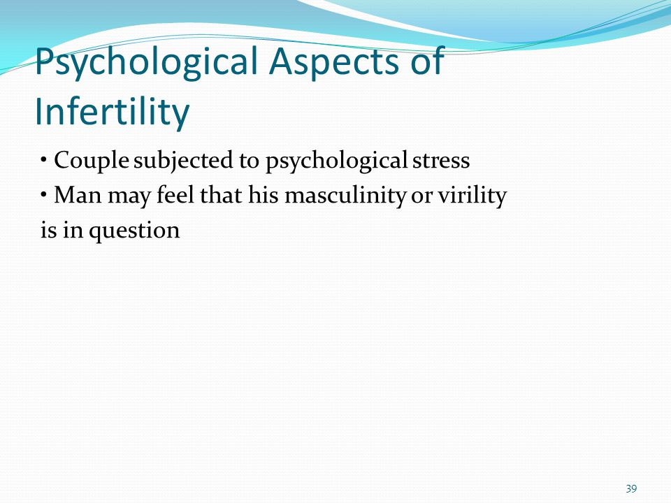 Psychological Aspects of Infertility