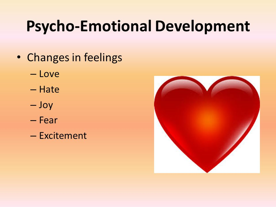 Psycho-Emotional Development